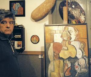 L´artista argentí establert a Eivissa Miguel Ángel Rato Carmisciano, més conegut com Kinoto. Foto: Sonya Torres Planells.