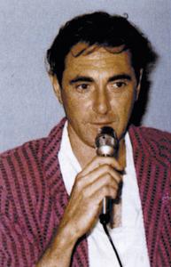 El m&uacute;sic, poeta i escriptor Pau Riba Romeva, que resid&iacute; i treball&agrave; a la Mola els anys setanta del s. XX. Foto: cortesia de la <em>Gran Enciclop&egrave;dia Catalana</em>.