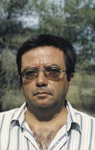 "L´escriptor i professor Vicenç Ribas Cabedo. Foto: Vicent Ribas ""Trull""."