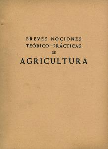 Portada de les lliçons d´agricultura que va escriure Bartomeu Ribas Ferrer.