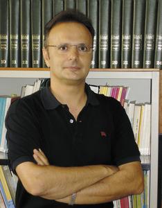 El filòleg i tècnic de normalització lingüística Joan-Albert Ribas Fuentes. Foto: Chus Adamuz.