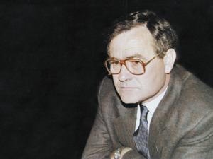 El mestre, polític i poeta Jaume Ribas Prats.