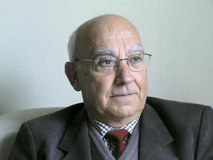 El catedràtic de filosofia Pere Ribas Ribas. Foto: Antoni Ferrer Abárzuza.