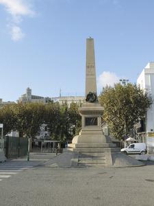 Monument als corsaris, erigit amb motiu del centenari de la gesta d´Antoni Riquer i Arabí. Foto: Ernest Prats Garcia.