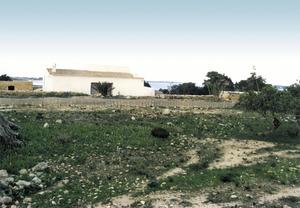 Hisenda de can Rita, on es varen trobar dues làpides funeràries de marès d´època islàmica.