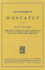 Guillem Roca Waring fou un dels promotors de l´<em>Avantprojecte d´Estatut d´Autonomia de les Illes Balears </em>de 1931, publicat el mateix any.