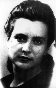 """La sindicalista Margalida Roig Colomar """"Llogat"""". Foto: cortesia de l´Arxiu Històric Municipal d´Eivissa."""