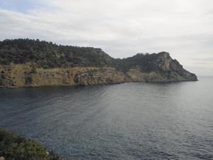 El cap Roig, a la costa de Sant Carles de Peralta. Foto: Felip Cirer Costa.