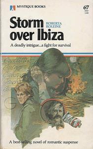 Portada de <em>Tormenta sobre Eivissa</em>, obra de l´autora francesa Roberta Roleine.