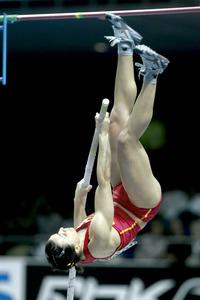 La saltadora amb perxa María del Mar Sánchez Gutiérrez.