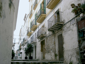 Una imatge del carrer de la Sagrada Família. Foto: Felip Cirer Costa.
