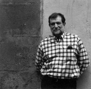 El filòleg i poeta Josep Maria Sala-Valldaura. Foto: Pau Vadell / extret de <em>S´esclop</em>.
