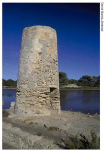 Torre del molí de can Ferrer, a la vénda de ses Salines. Foto: David García Jiménez.