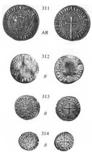 Monedes encunyades durant el regnat de Sanç I.