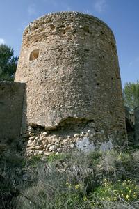 Municipi de Sant Antoni de Portmany. Torre de sa Torre o des Llucs, a la vénda des Bernats. Foto: EEiF.