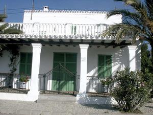 Sant Francesc de s´Estany. Una de les cases de la Salinera, al nucli de sa Canal. Foto: EEiF.