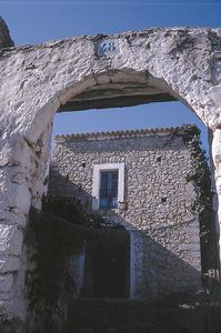 Sant Mateu d´Albarca. Portal de can Trull, a la vénda de sa Noguera. Foto: Chus Adamuz.