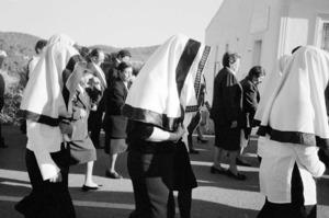 Sant Miquel de Balansat. La processó dels Passos de Setmana Santa. Foto: Guillem Riera.