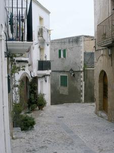 El carrer de la Santa Faç, a Dalt Vila. Foto: Felip Cirer Costa.