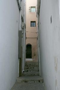 El carreró de Santa Llúcia, a Dalt Vila. Foto: Felip Cirer Costa.