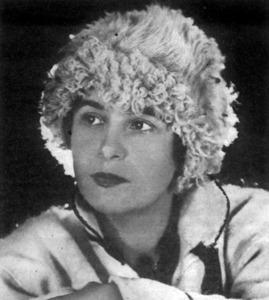 La pintor austríaca Lene Schneider-Kainer, que durant la Segona República Espanyola muntà un petit hotel a Dalt Vila.