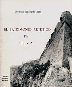 Portada de l´obra sobre el llegat cultural d´Eivissa, de Santiago Sebastián López, publicada el 1973.