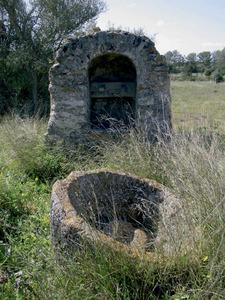 El pou de can Sénia, a la vénda de Forca, de Sant Rafel de sa Creu. Foto: Joan Josep Serra Rodríguez.