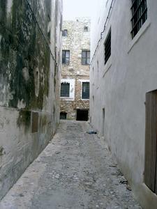 El carrer de la Soledat en una fotografia presa des de la plaça de la Catedral. Foto: Felip Cirer Costa.