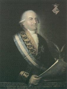 Retrat de Miquel Gaietà Soler i Rabassa, assessor de la Cúria de Governació d´Eivissa entre 1784 i 1796, que és la figura més representativa de la Il·lustració a les Pitiüses.