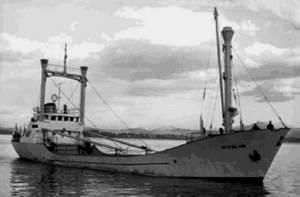 El vaixell <em>Sonia Gabriela Masiques</em>, de la Naviera Comercial de Formentera, desaparegué el març de 1984 en la travessia entre Vallcarca i Sant Antoni de Portmany.