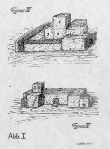 Dues il·lustracions del treball que sobre lexicografia eivissenca va realitzar el filòleg alemany Walter Spelbrink.