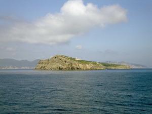 Vista de Tagomago des de la mar. Foto: Felip Cirer Costa.