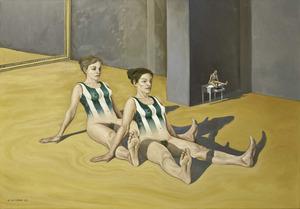 Obra del pintor francès Marc Tara Tessier, establert a Formentera des de 1967.