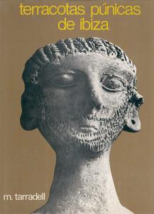 Portada d´un llibre de Miquel Tarradell i Mateu de temàtica arqueològica pitiüsa.