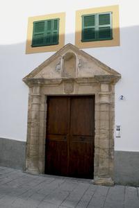 Tomàs de Tobalina, governador d´Eivissa entre 1765 i 1779, va prendre part en l´ordre d´expulsió dels jesuïtes, dictada per la cort, i el 3 d´abril de 1767 va prendre possessió del seu convent. Foto: Felip Cirer Costa.