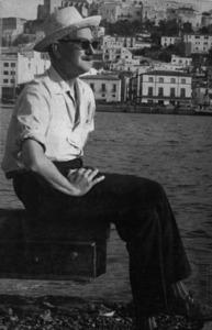 L´escriptor holandès Jan Gerhard Toonder ha publicat diverses novel·les ambientades a Eivissa. Foto: arxiu de Martin Peter Davies.