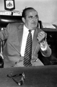 Josep Torrens Ribas, que fou alcalde de Sant Antoni de Portmany entre 1975 i 1978, en plena època de transició a la democràcia. Foto: arxiu de Pere Vilàs Gil.