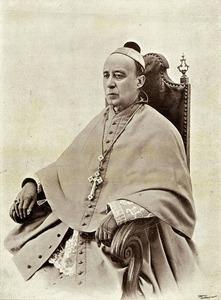 Retrat del bisbe de Menorca Joan Torres Ribes &quot;Batlet&quot;, de 1902, quan fou predonitzat bisbe. Foto: extret d´<em>El Porvenir</em> (<em>Diario de Ibiza</em>).