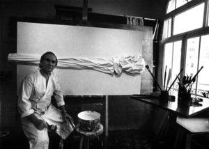 L´orfebrer i pintor Josep Lluís Torres Roig. Foto: col·lecció d´Antoni Torres Roig.