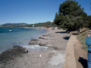 La platja de s´Argamassa, coneguda també amb el nom de sa Trenca. Foto: Felip Cirer Costa.