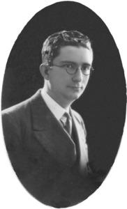 Jus Tur Puget –Corb– en una fotografia de la seua joventut. Foto: arxiu familiar.