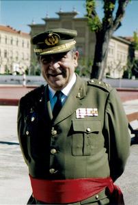 El general de brigada d´artilleria Ricard Tur Serra. Foto: arxiu de Pere Vilàs Gil.