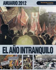 Portada de l´<em>Anuario 2012</em>, publicat per l´edici&oacute; eivissenca del diari <em>&Uacute;ltima Hora</em>.