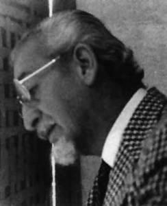 El pintor Antonio Valencia Yupanqui.