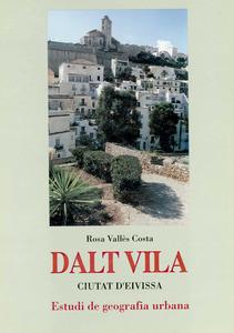 Portada d´una publicació sobre geografia urbana de la catedràtica Rosa Vallès Costa.