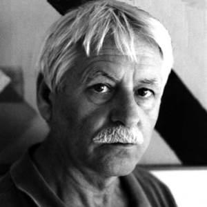 El pintor Josep Vallribera i Falcó. Foto: arxiu de Marià Torres Torres.