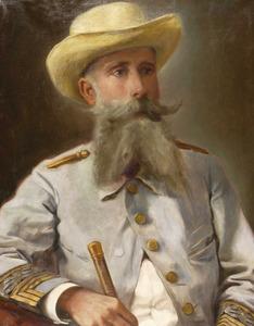 Retrat del general Joaquín Vara de Rey y Rubio de la galeria de fills il·lustres de l´Ajuntament d´Eivissa. Foto: Toni Pomar.