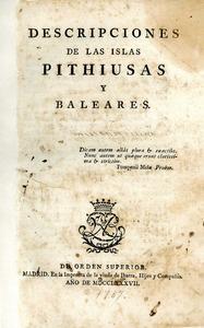 En aquesta obra de 1787, José de Vargas Ponce descriu una Eivissa pobra i endarrerida.