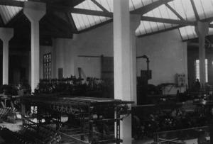 Interior de la Fàbrica Ventosa. Foto: cortesia de l´Arxiu Històric Municipal d´Eivissa.