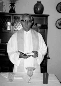 L´arqueòleg i missioner del Sagrat Cor Cirstòfol Veny Melià. Foto: arxiu de Jordi H. Fernández Gómez.